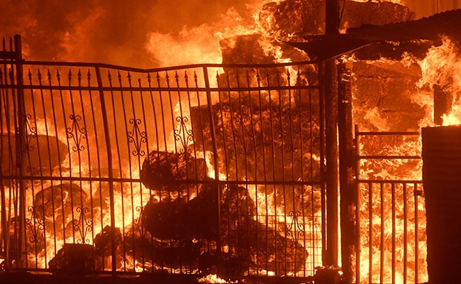 california wildfire houses burn reuters