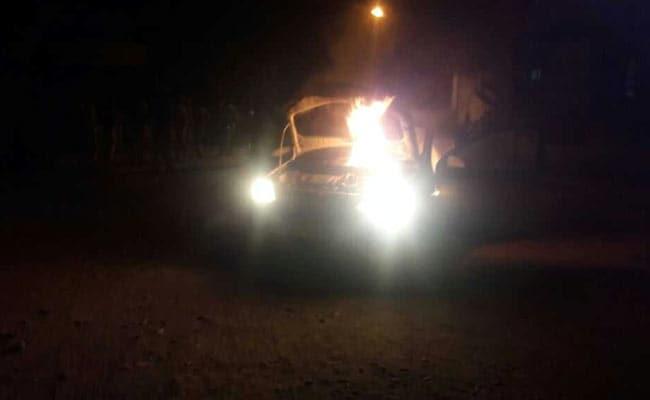 सतना मामला : पादरी की कार जलाने का कथित आरोपी गिरफ्तार