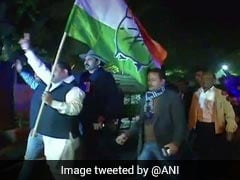 नवनिर्वाचित कांग्रेस अध्यक्ष राहुल गांधी दिल्ली लौटे, पार्टी कार्यकर्ताओं ने किया भव्य स्वागत