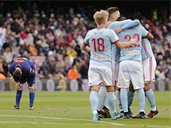 La Liga: Barcelona Slip In Celta Vigo Thriller