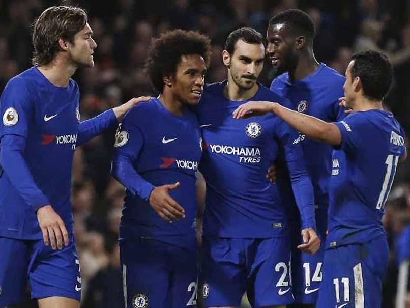 Premier League: Chelsea Outclass Stoke City In Five-Goal Drubbing