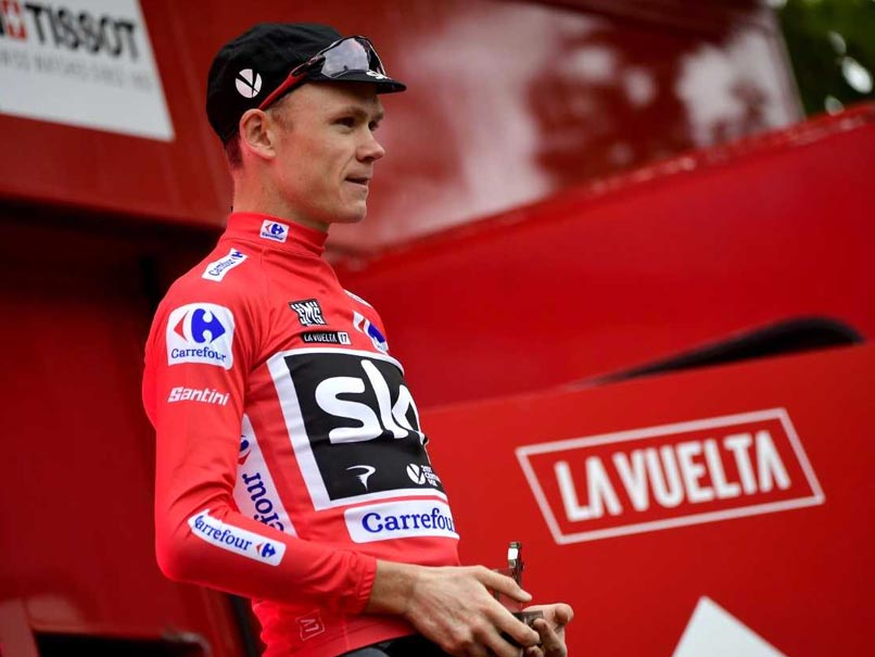 'I Broke No Rules' Says Chris Froome After 'Adverse' Drugs Test