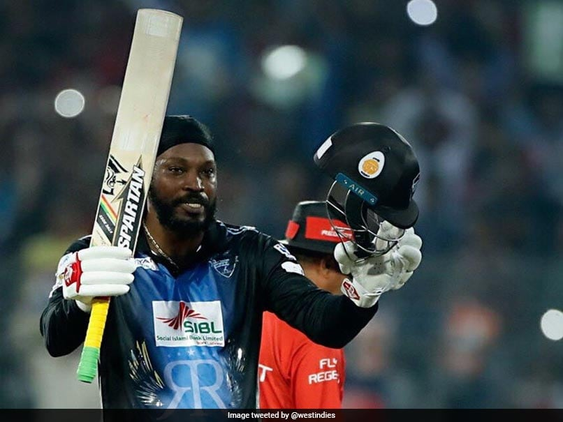 Chris Gayle smashes T20 world record 18 sixes in BPL final