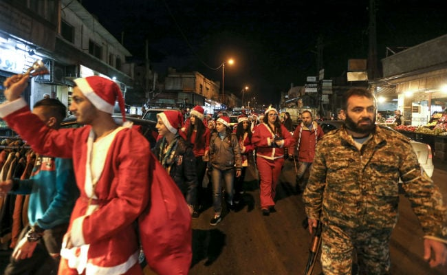 christmas celebrations in syria afp 650