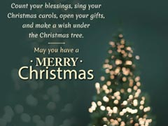 Merry Christmas 2017: SMSes, Wishes, WhatsApp Messages, Images And ...