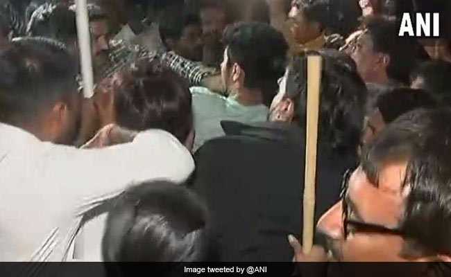 Congress Accuses BJP Of Violence After 3 Leaders Are Detained In Gujarat