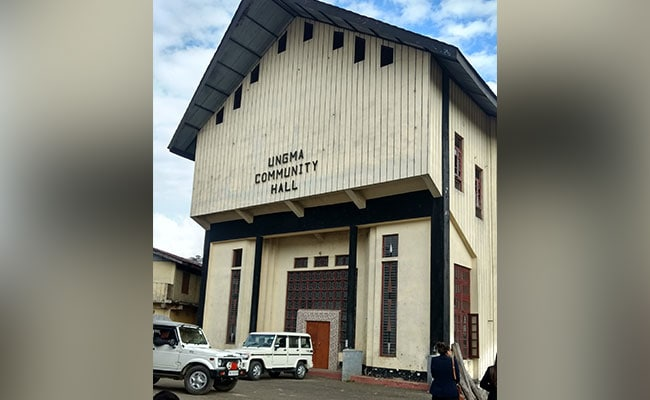 coomunity centre in ungma nagaland