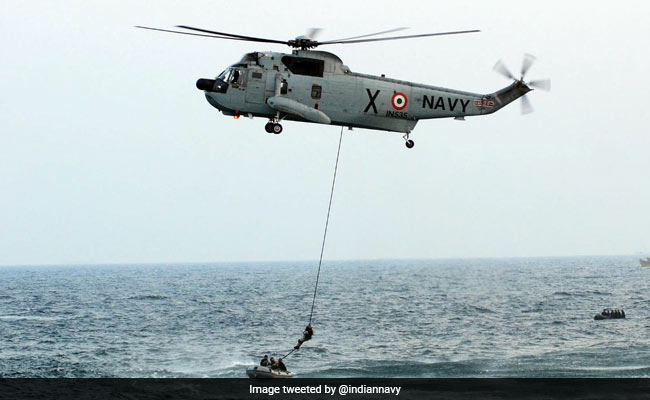 Navy Ship Locates 17 Boats With 180 People Off Lakshadweep Coast