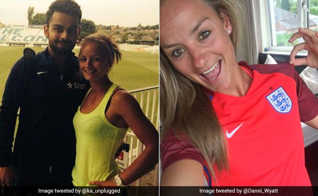 daneielle wyatt and virat kohli