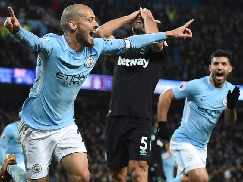 Premier League: Record-Equalling Manchester City Savour David Silva Service
