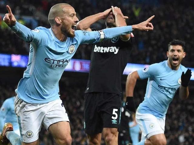 Premier League: Record-Equalling Manchester City Savour David Silva Service