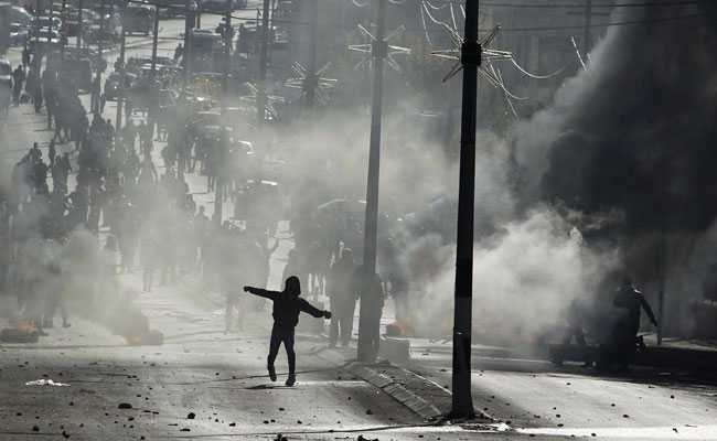 Two Palestinians Dead In 'Day Of Rage' Protests, US Isolated At United Nations