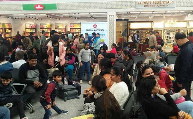 delhi airport ndtv