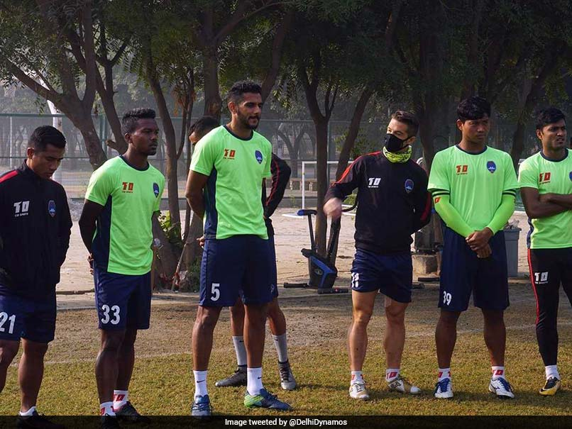 Indian Super League: Footballers Wear Masks While Training In Delhi