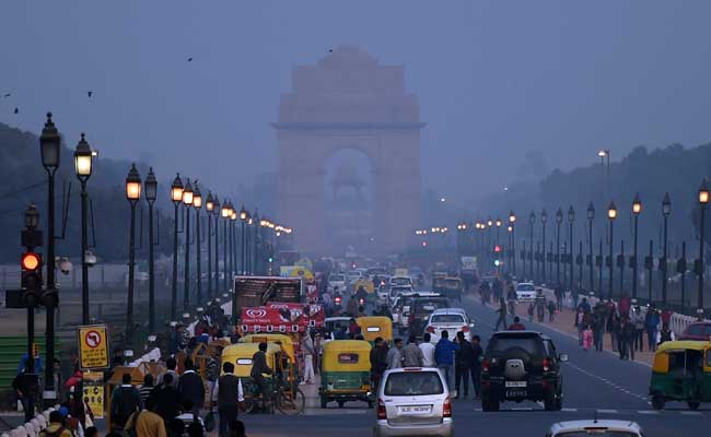 Delhi's Air Quality Improves After Dust Storm That Came From Oman