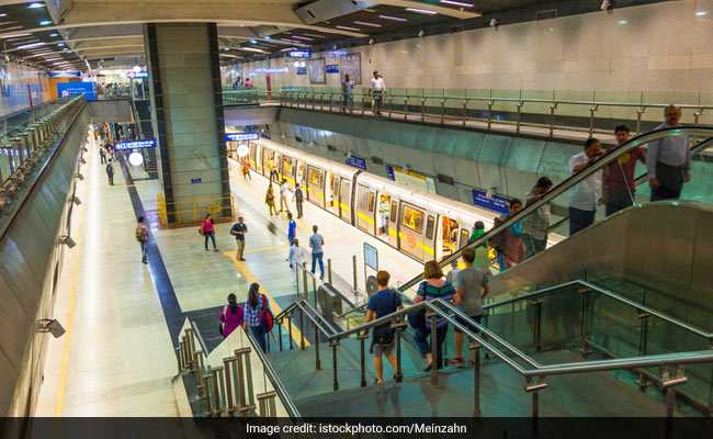 Service Briefly Affected On Delhi Metro's Violet Line Due To Snag