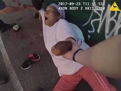 Body Cam Captures Police Dog Attacking Innocent Woman Taking Out Her Garbage