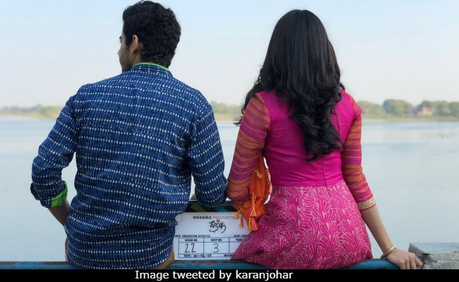 Dhadak: Janhvi Kapoor And Ishaan Khattar In First Photo From Sets