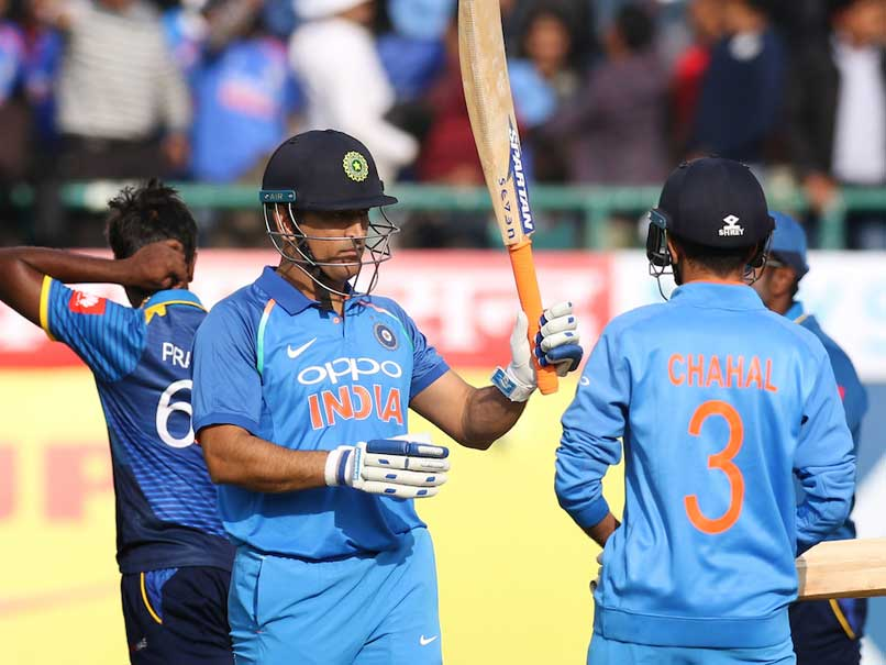 India vs Sri Lanka, 1st ODI: MS Dhoni Takes Hosts To 112 After Dramatic Batting Collapse