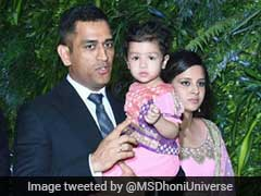 Dhoni Enjoys Break From Cricket, Posts Beautiful Video With Family