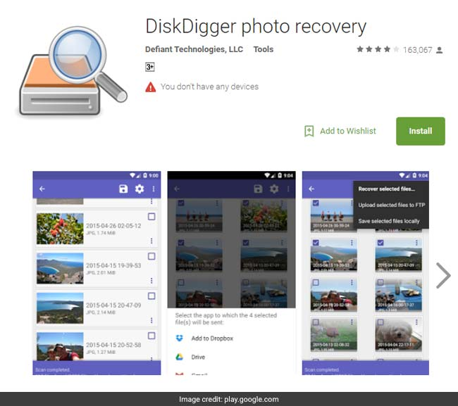 disk digger photo recovery
