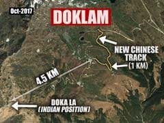In Doklam, Chinese Built New Roads In Last 2 Months, Show Satellite Pics