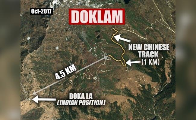 Exclusive: चीन ने डोकलाम में पिछले दो महीने में नई सड़कें बनाईं, सैटेलाइट तस्वीरों से खुलासा