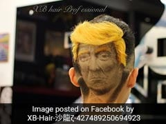 Donald Trump-Inspired Hairstyle Is The Strangest Thing You'll See Today