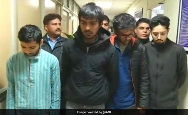 4 College Students Arrested In Delhi As Part Of New Year Drugs Crackdown