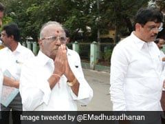 AIADMK Candidate In RK Nagar By-Poll Is E Madhusudhanan, An OPS Loyalist