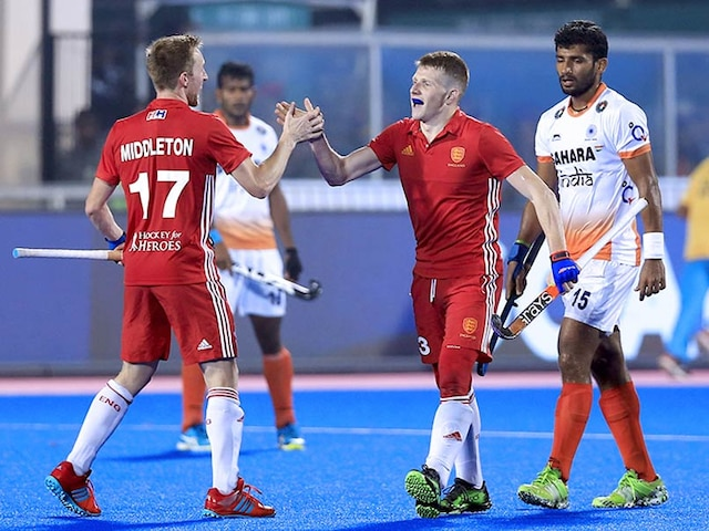 Hockey World League Final: India Go Down Fighting 2-3 To England In A Thriller