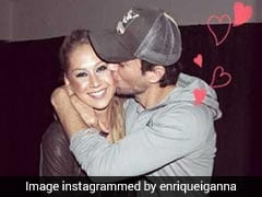 Enrique Iglesias and Anna Kournikova Welcome Twins Nicholas And Lucy