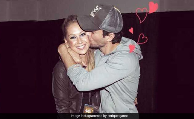 Enrique Iglesias and Anna Kournikova Reportedly Welcome Twins