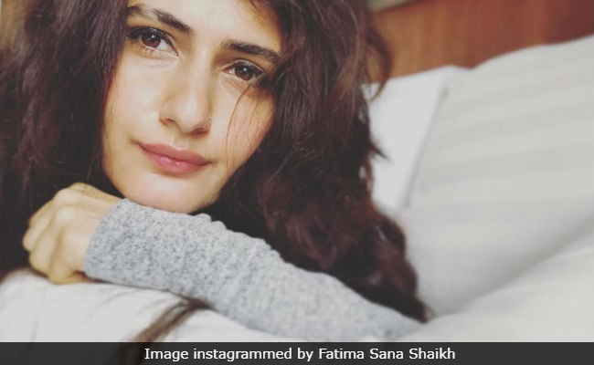 Fatima Sana Shaikh Posted A Selfie And The Internet Found Something 'Wrong'