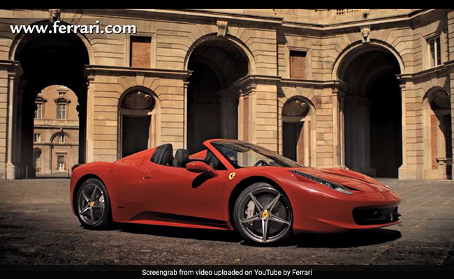Man Steals Ferrari, Arrested After He Was Seen Begging For Petrol Money