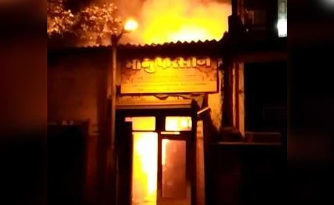 12 Killed After Fire Erupts At Snack Shop In Mumbai
