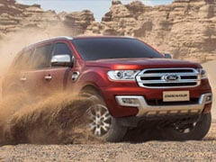 Ford Endeavour 2.2-Litre Model Launched With A Panoramic Sunroof