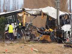 Number Of Dead In French School Bus Accident Rises To 6