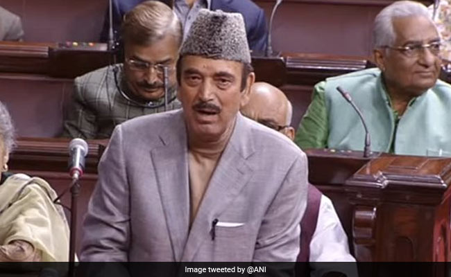 'Pakistan Insulted 130 Crore Indians': Ghulam Nabi Azad After Jadhav Family Reunion