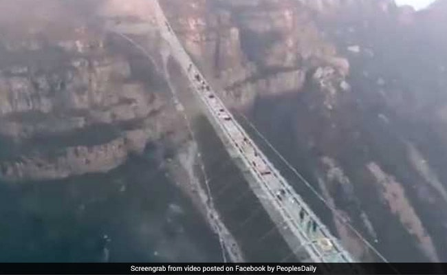 Dare To Walk On 'World's Longest Glass Bridge'? Video Will Make You Dizzy