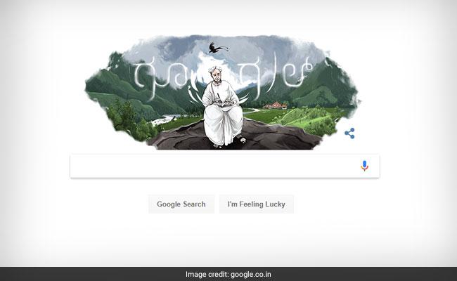 Google Doodle Celebrates Kannada Novelist Kuvempu's 113th Birthday