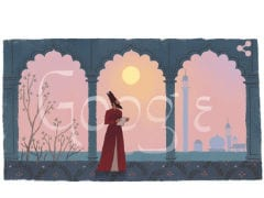 Google Doodle Honours Mirza Ghalib On His 220th Birthday