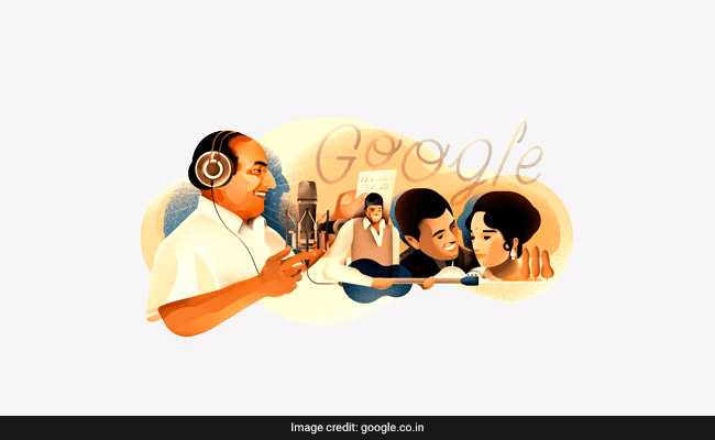 Google Celebrates Singing Legend Mohammed Rafi's 93rd Birthday With A Doodle