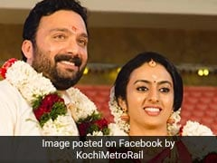 Delayed By Traffic, Groom Takes Kochi Metro To His Wedding