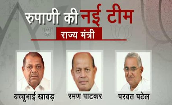 gujarat minister profile