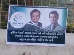 पोस्टर वॉर: CM उम्मीदवार के पोस्टर्स लगने पर अहमद पटेल बोले, ये बीजेपी का दुष्प्रचार