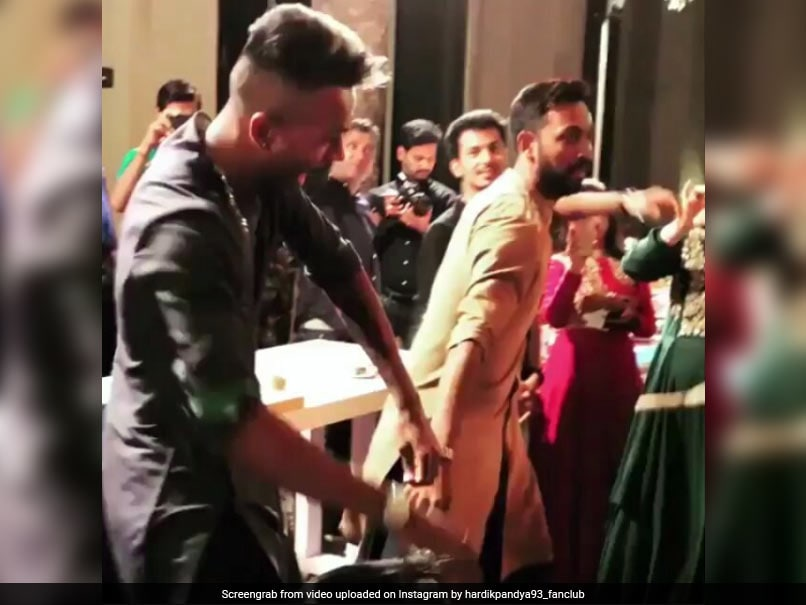 Watch: Hardik Pandya Goes Berserk At Brother Krunal's Mehendi Function