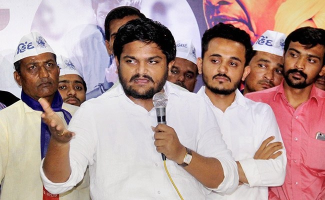 Hardik Patel Holds Roadshow In City Sans Police Permission