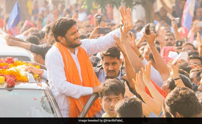 Police Case Against Hardik Patel For Roadshow Despite Being Denied Permission