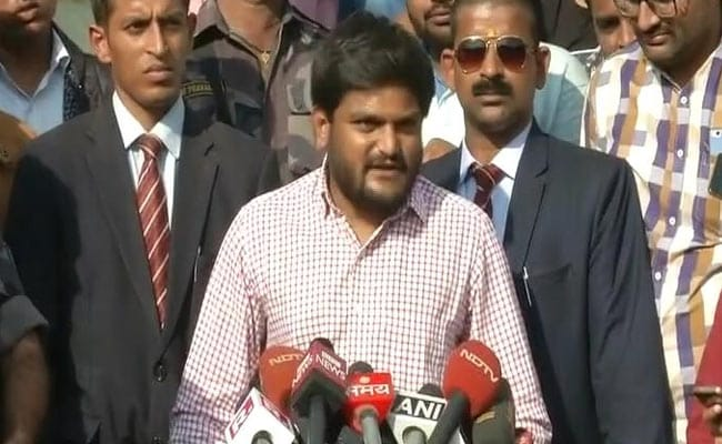'EVMs Decide Our Country's Future,' Says Hardik Patel After BJP's Gujarat Win
